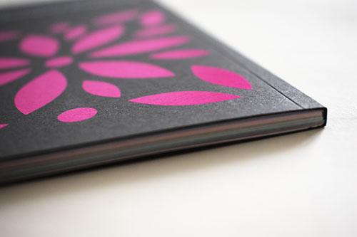 Acabado especial portada catálogo
