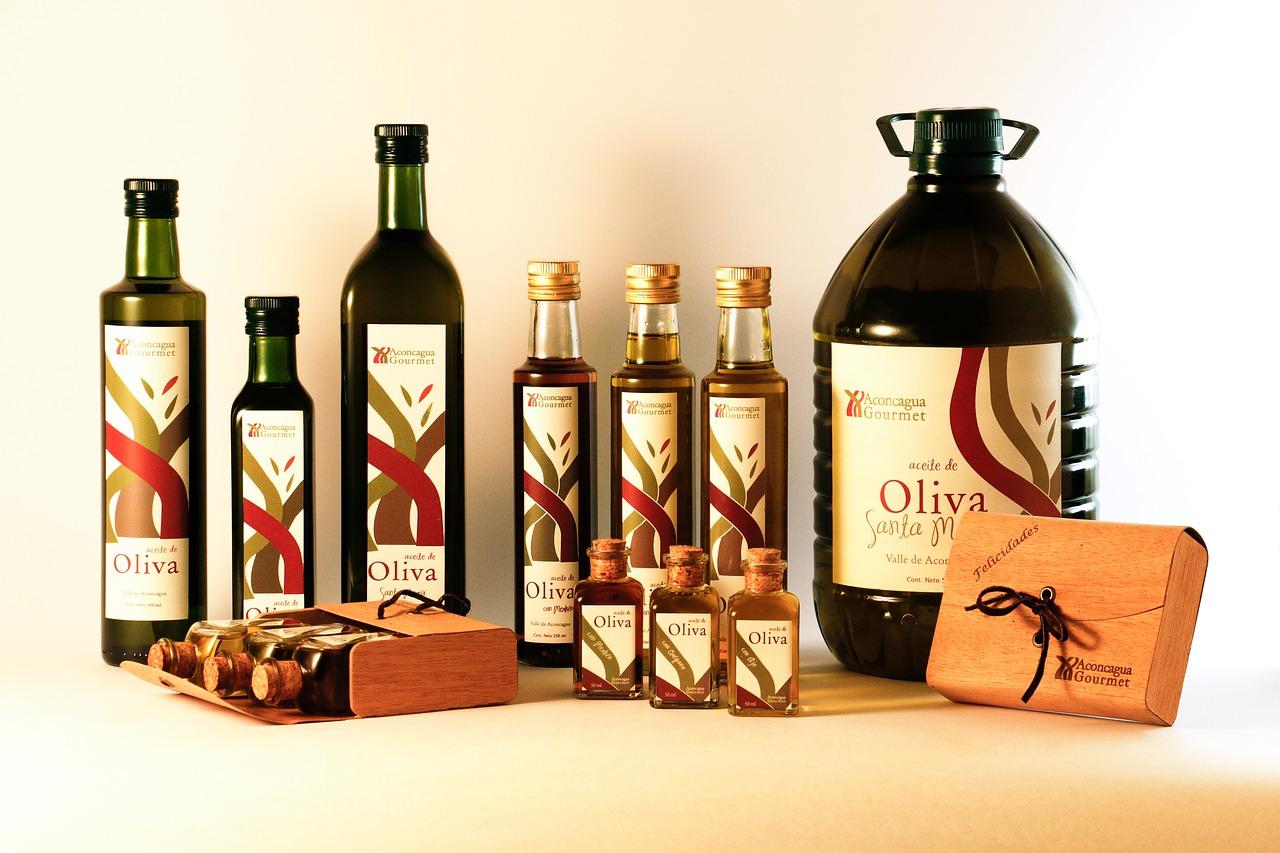 Packaging de aceite de oliva