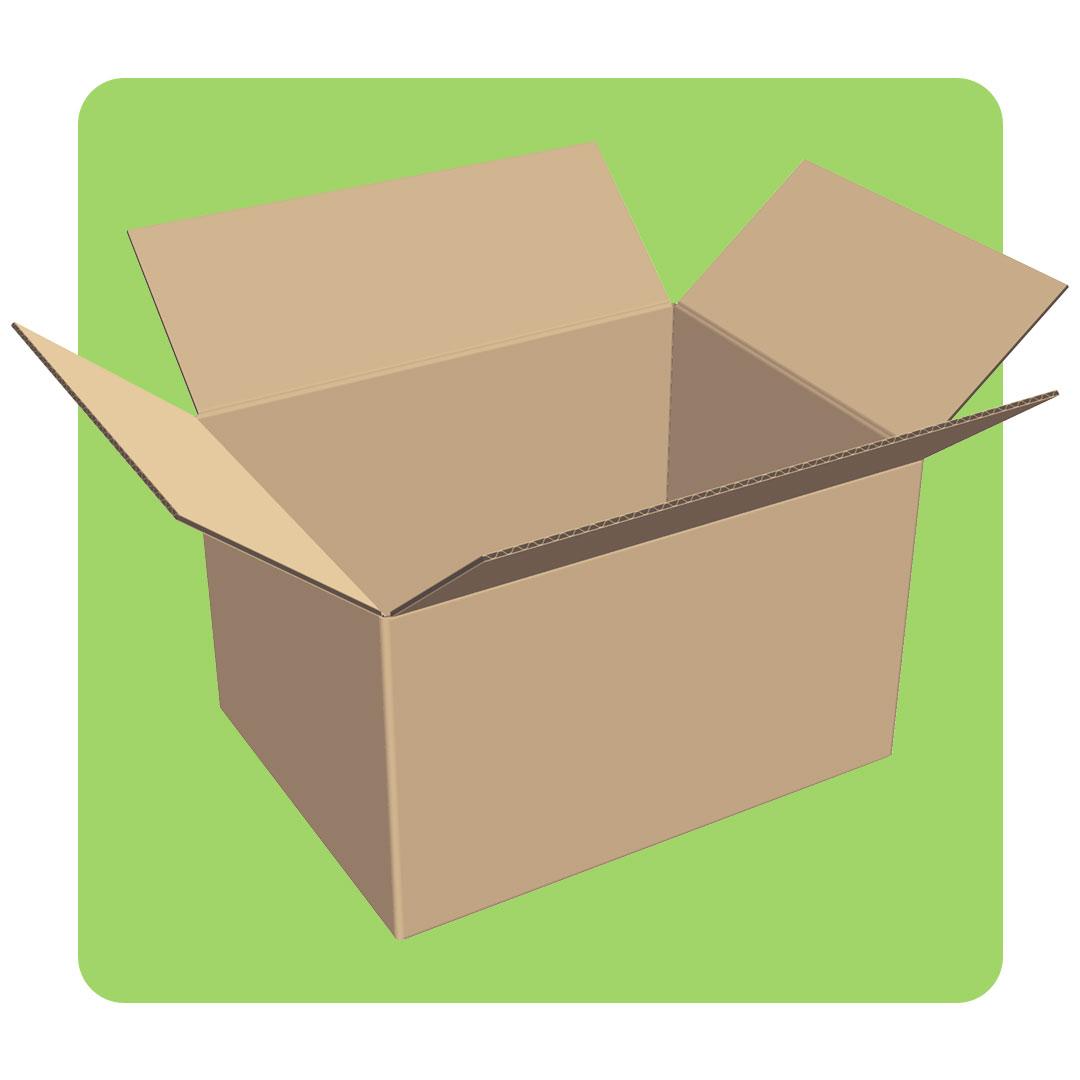 Caja de envío estandar personalizada