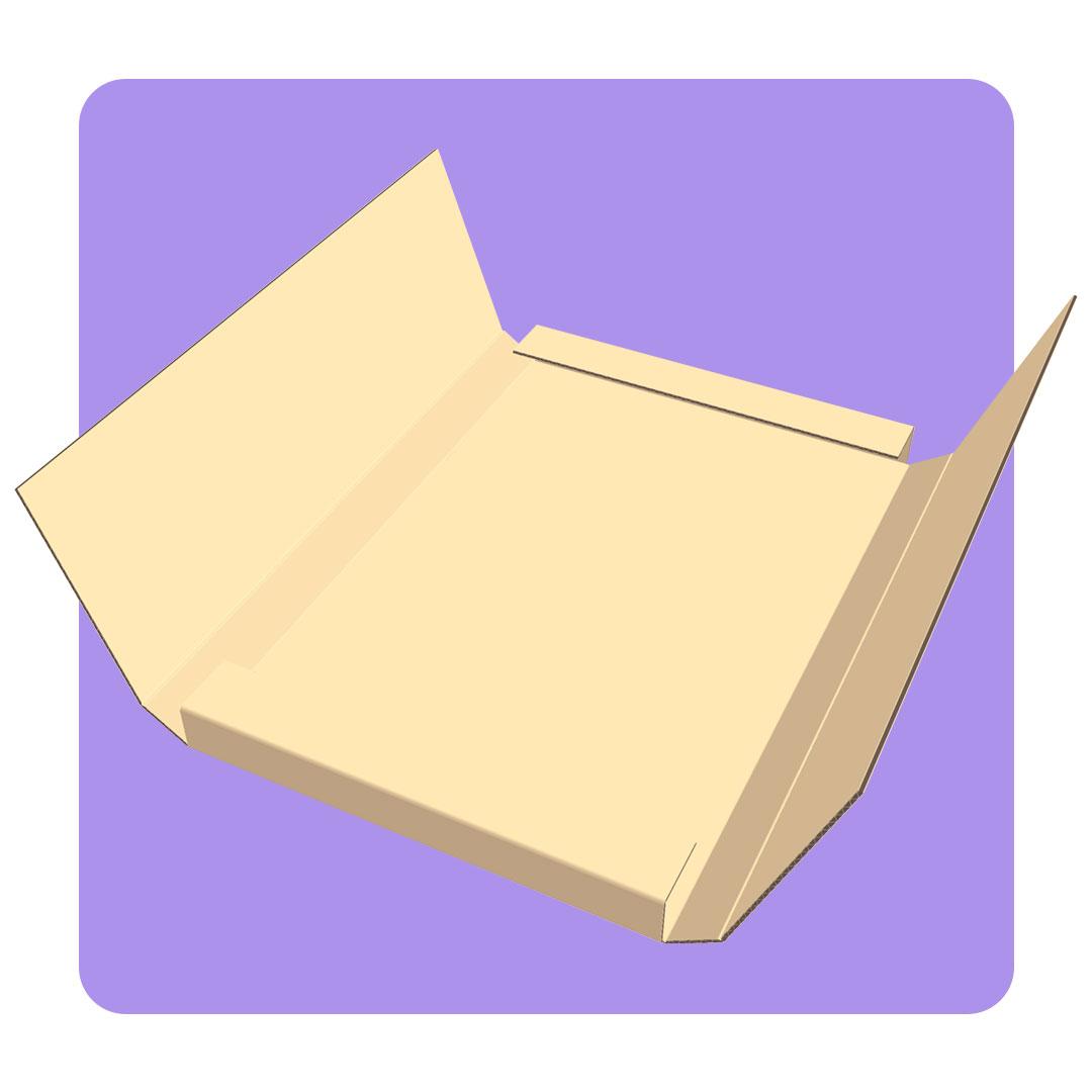 Caja de envío personalizada para libros