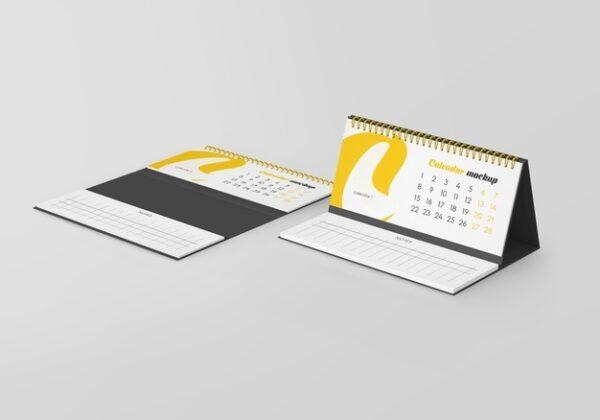 Calendarios de sobremesa con bloc de notas