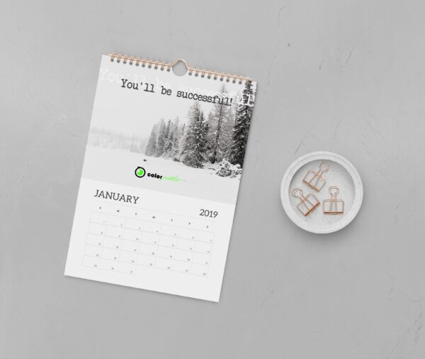Imprimir calendarios de pared personazalidos