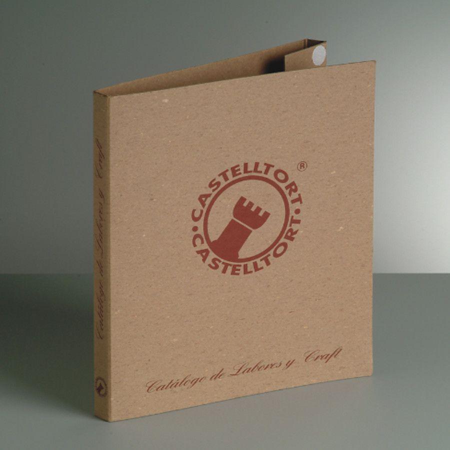 Carpeta personalizada de cartón rígido