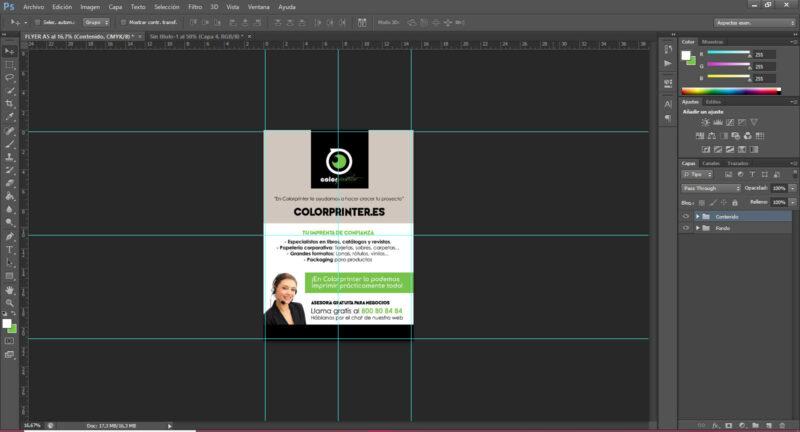 Como hacer un flyer en Photoshop