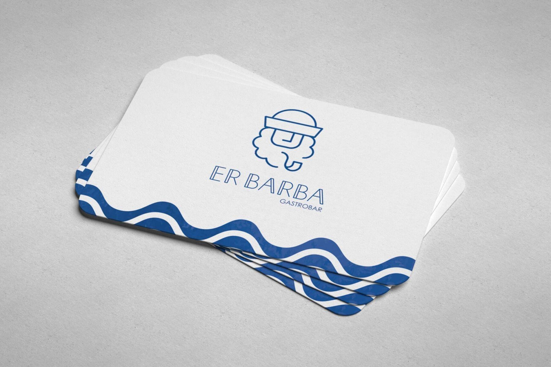 Diseño tarjetas de visita Er Barba