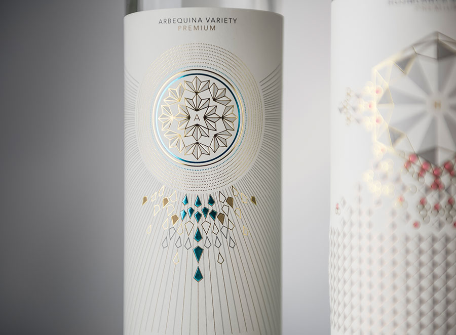 Diseño de packaging aceite de oliva