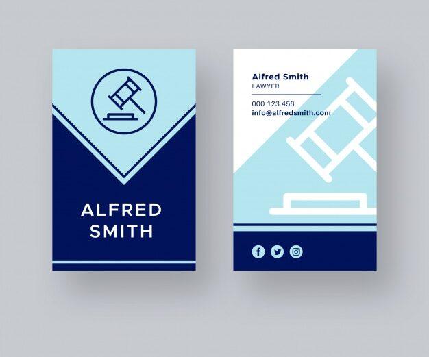 Diseño de tarjetas para abogados 12