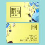 Diseño deTarjetas de visita para hoteles 9