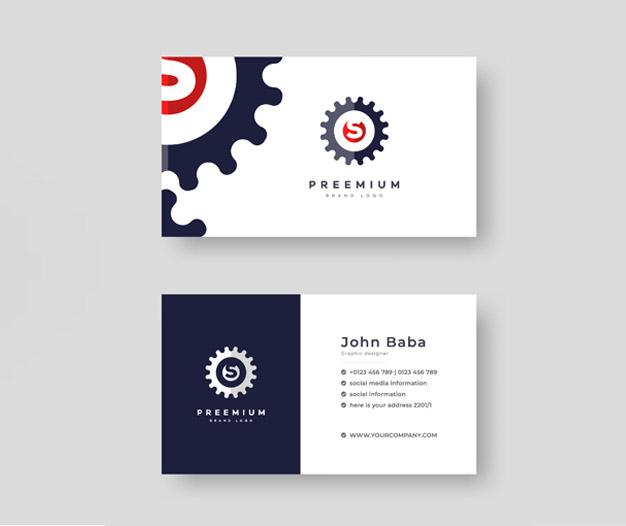 Diseño para tarjetas de mecanicos
