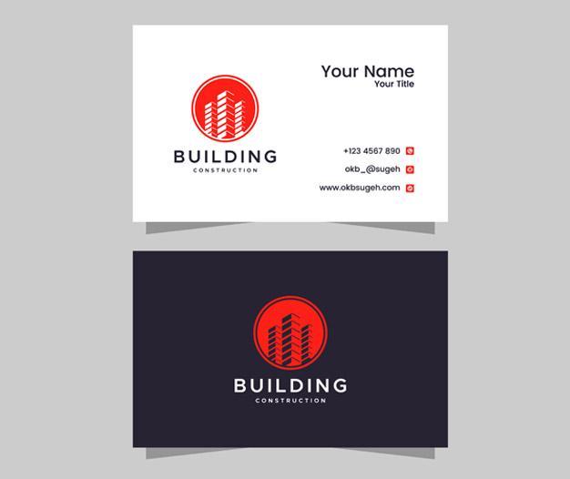 Diseño para tarjetas de presentacion arquitectos