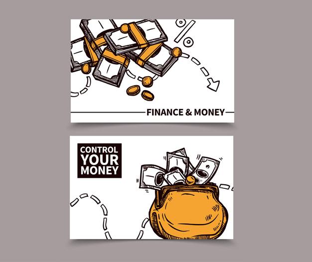 Diseño tarjetas de visita contable