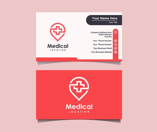 Diseño tarjetas medicos