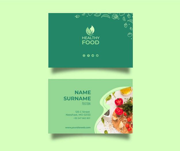 Diseño tarjetas nutricion