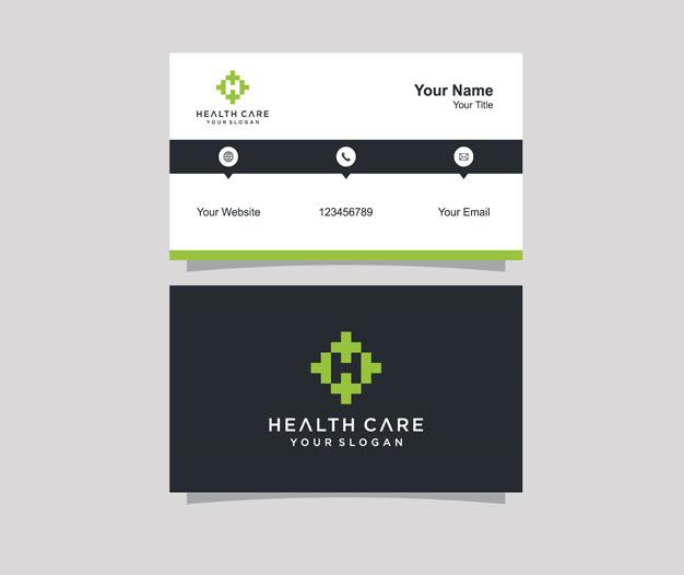 Diseño tarjetas presentacion medicina