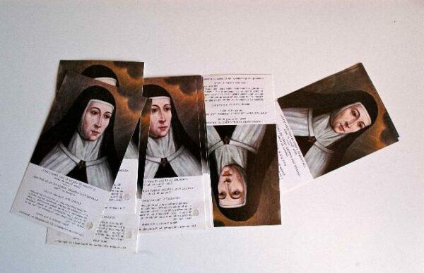 Imprimir estampas de santos. Estampas impresas