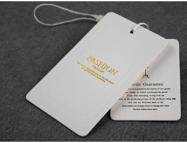 etiquetas ropa perforacion