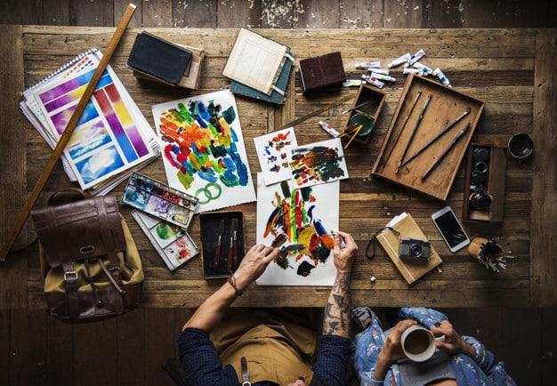 Imprenta de artistas profesionales