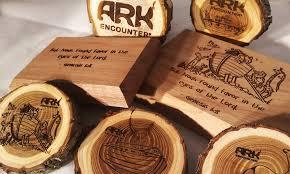 Impresión artesanal Grabado en madera
