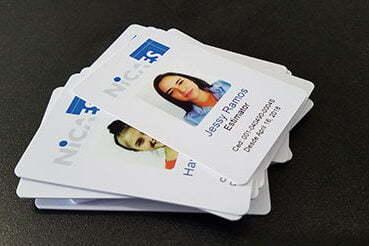 Impresión carnets PVC