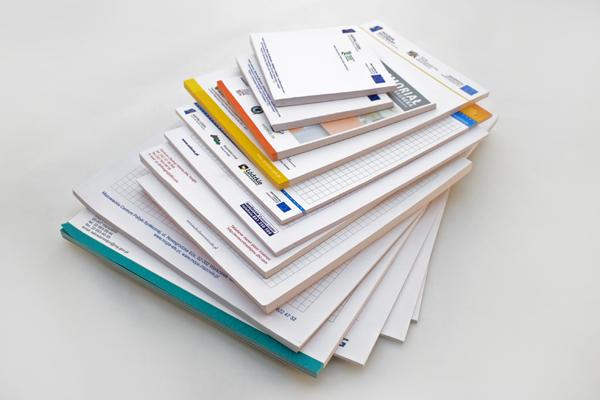 Impresión de bloc de notas personalizados