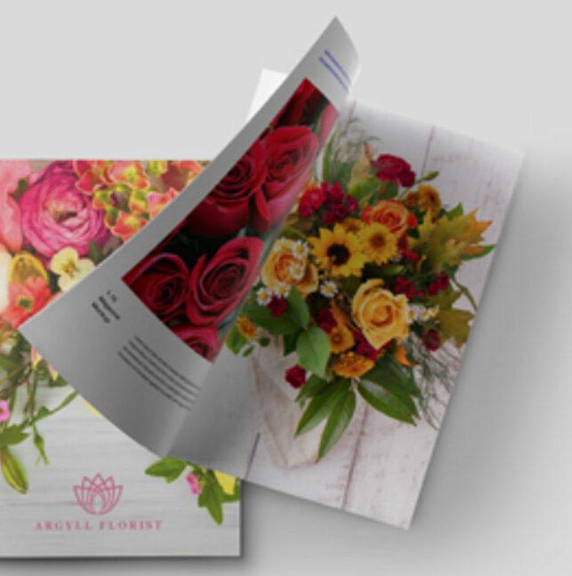 Impresión de catálogos grapados