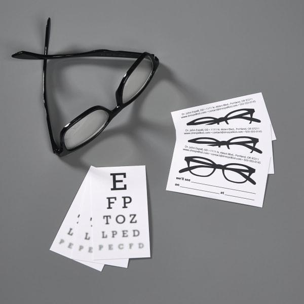 Impresión de tarjetas de citas