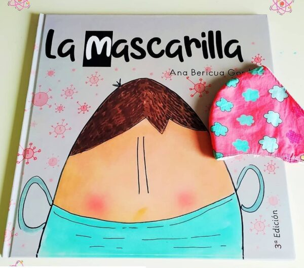 Impresión editorial libro infantil La Mascarilla