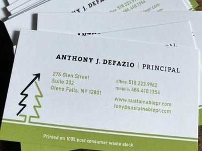 Imprimir Tarjetas de visita papel reciclado