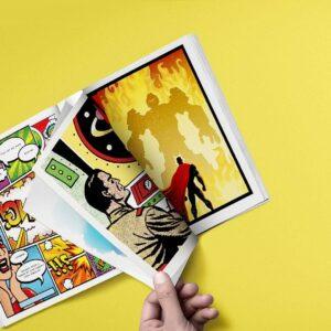 Imprimir comics y publicar comic