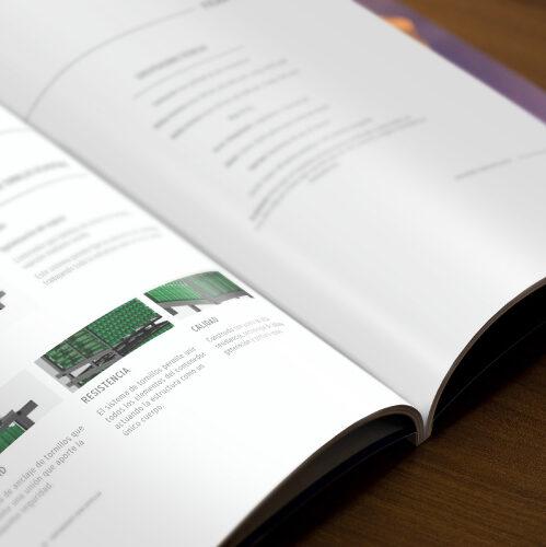 Impresión de revista para dossier de empresa