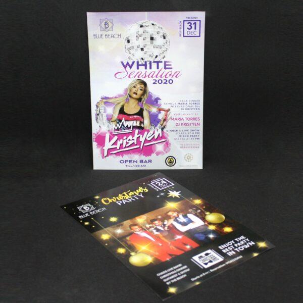 impresión de flyers para discotecas