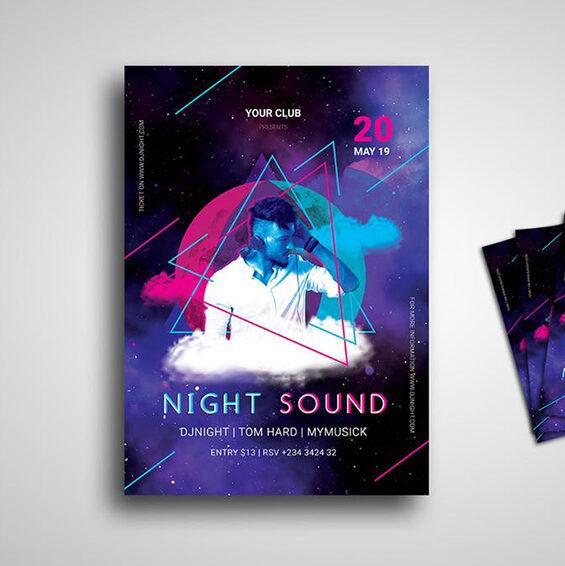 flyers de discotecas y fiestas