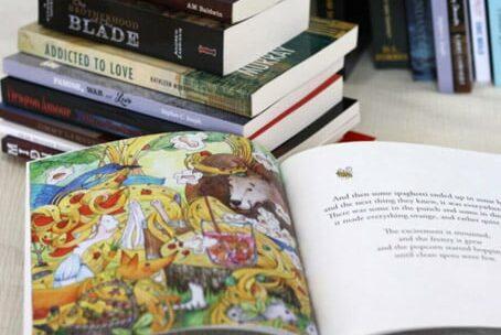 Libro A5 en color
