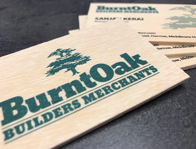 impresión en madera, Impresión en madera