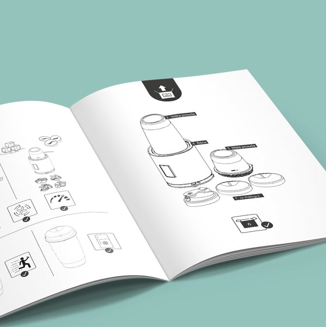 Imprimir manuales de instrucciones