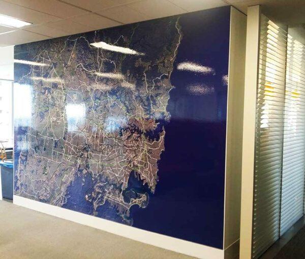 mapas de gran formato