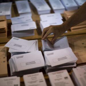 Imprimir papeletas electorales