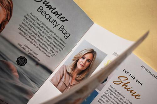 Imprimir revistas interior papel estucado