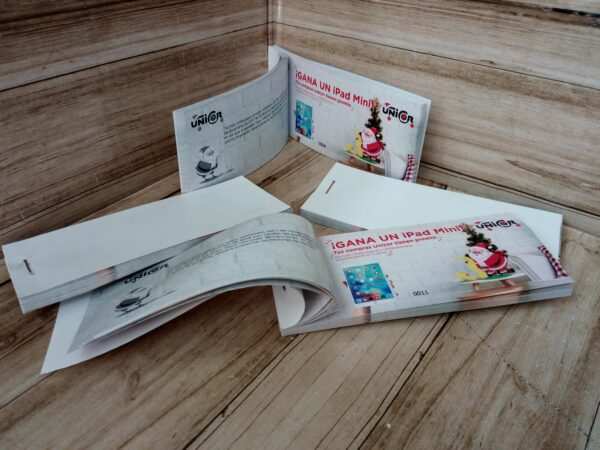 Imprimir talonarios de rifa