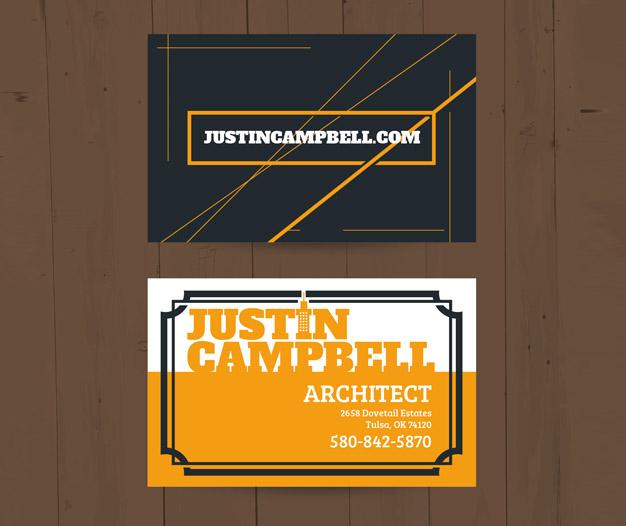 Imprimir tarjetas de visita arquitectos