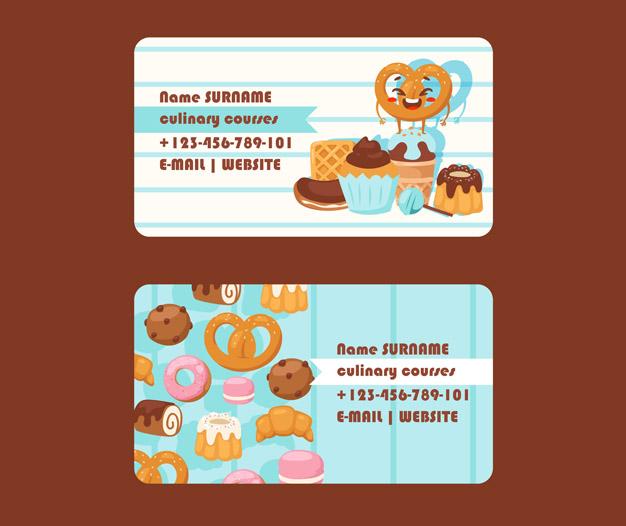 Imprimir tarjetas de visita pasteleria