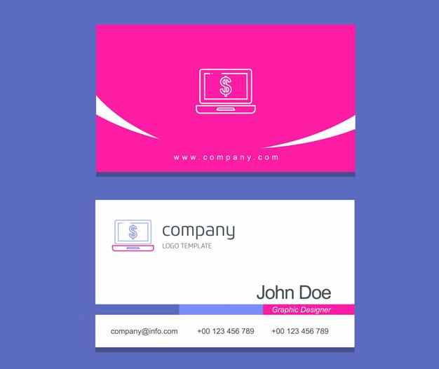 Imprimir tarjetas para contable diseño