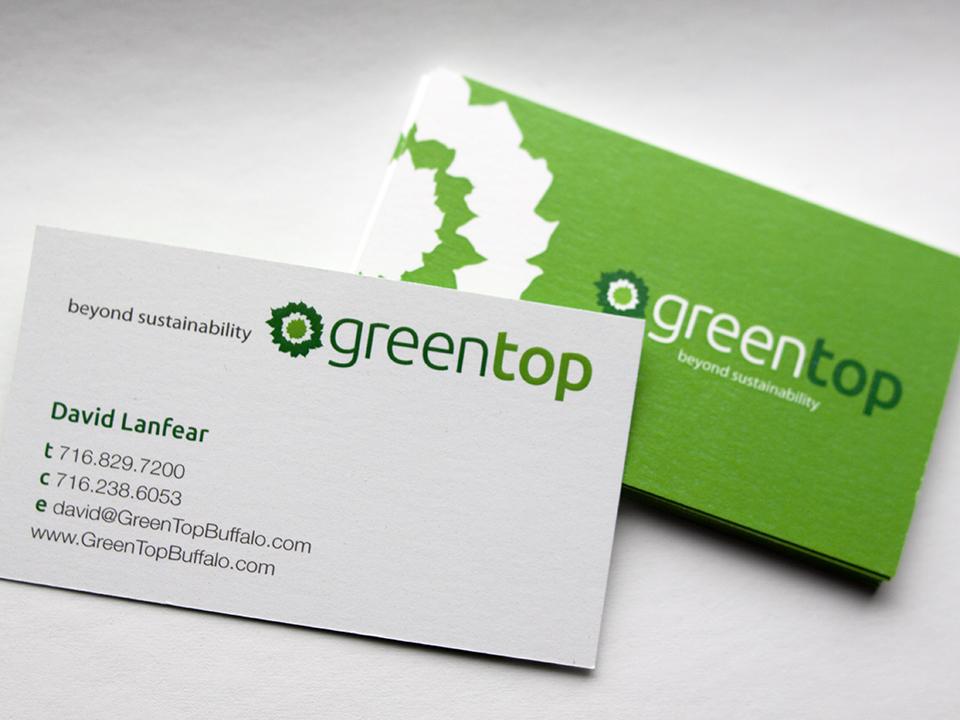 Imprimir tarjetas de visita recicladas