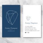 Imprimir tarjetas visita joyeria