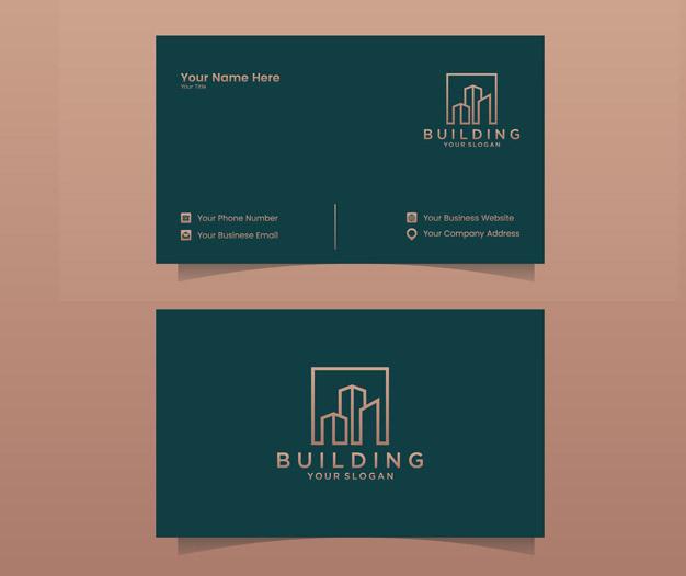 Inmobiliaria tarjetas profesionales dinseño