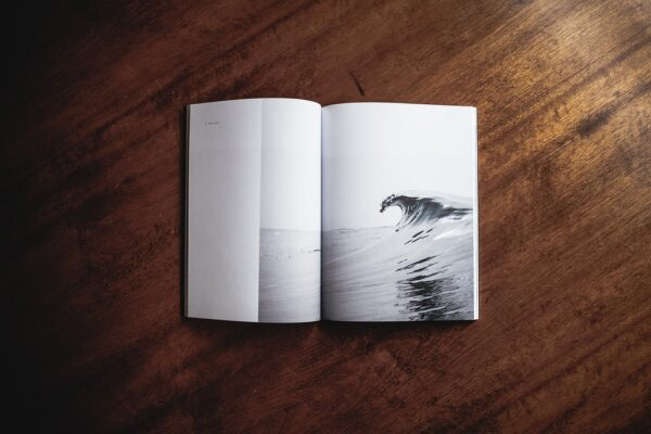 libro a6 blanco y negro