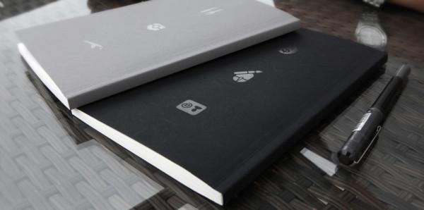 Imprimir libretas encoladas