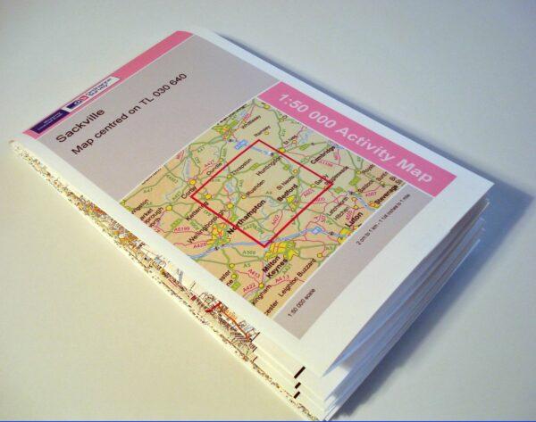 imprimir mapas plegados