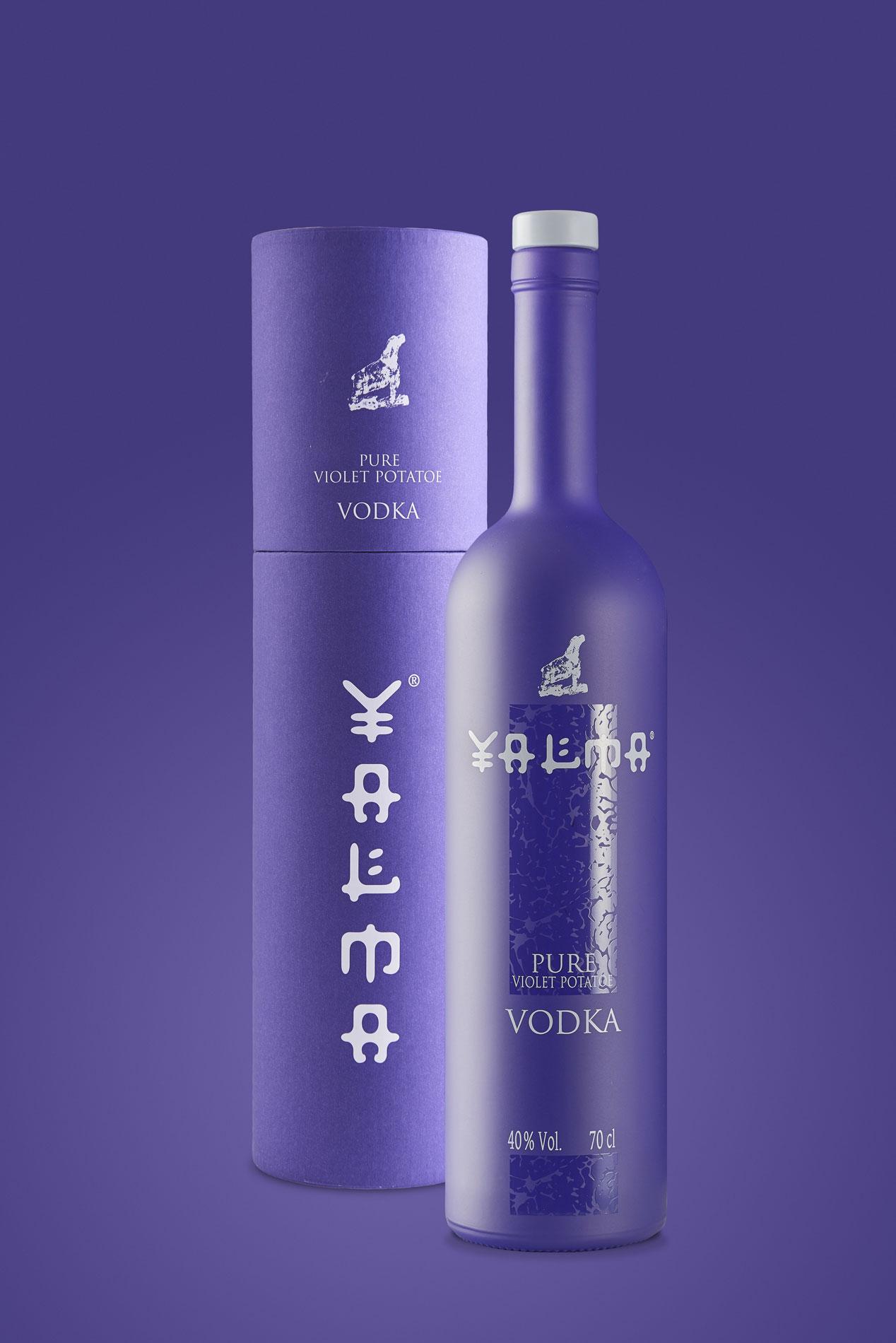 Diseño de botella y packaging