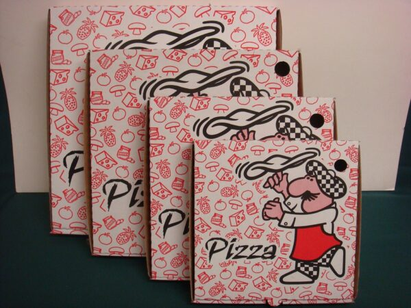 packaging cajas pizza